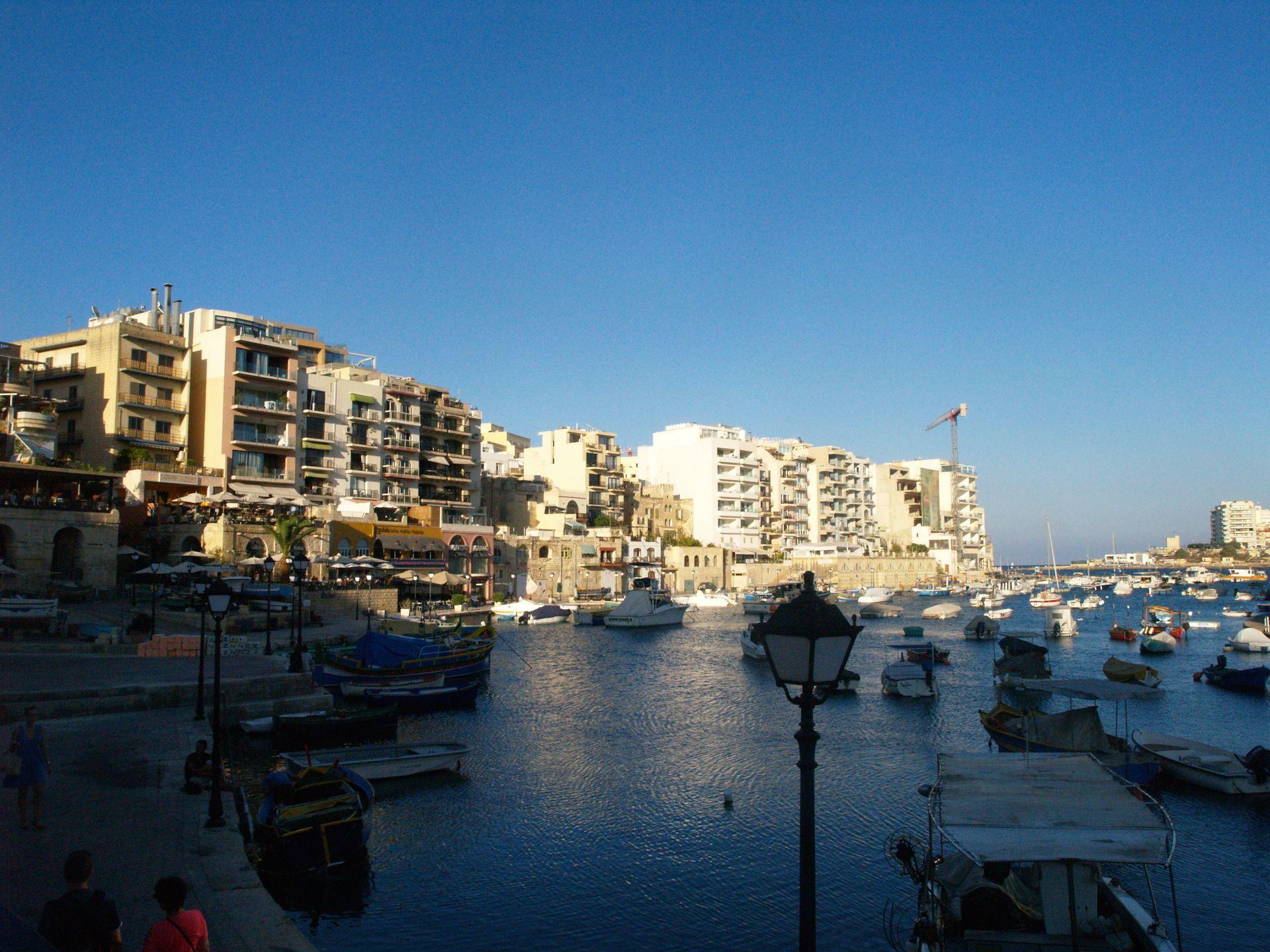 St Julian S H 233 T Uitgaansgebied Van Malta
